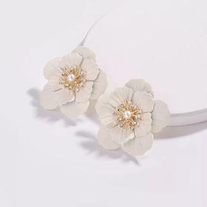 New Floral Anthropologie Stud Earrings